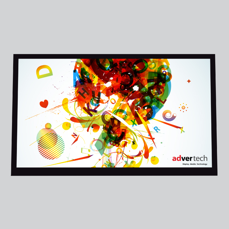 LED-Screen-Wall-Mount | AdverTech Digital Advertising & Media Displays