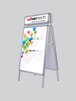Display-Board-With-Logo | AdverTech Digital Advertising & Media Displays