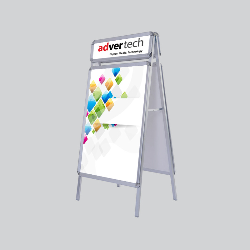 Display-Board-With-Logo | AdverTech Digital Advertising & Media Displays