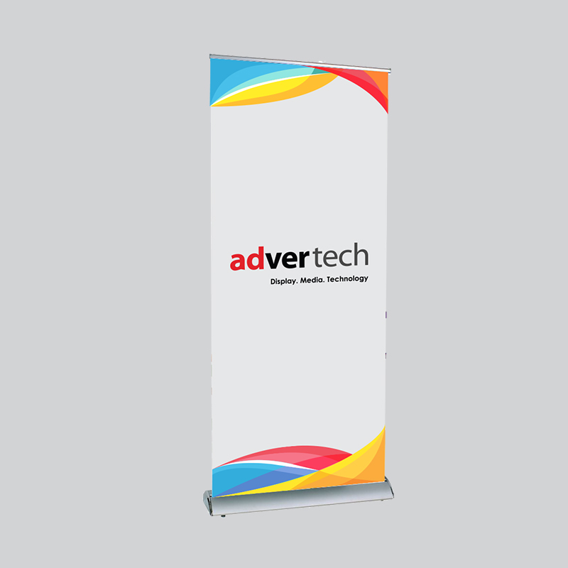 Economy-Roller-Banner | AdverTech Digital Advertising & Media Displays